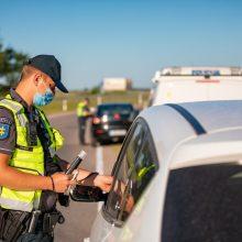 Per savaitę Klaipėdos apskrityje policininkai užfiksavo net 237 KET pažeidimus