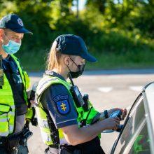 Karštos dienos Klaipėdos keliuose: išaiškinta 11 neblaivių vairuotojų
