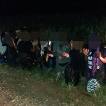 Banga neslopsta: pasieniečiai sulaikė dar 144 neteisėtus migrantus