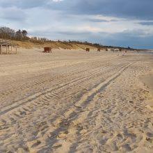Paplūdimiai jau ruošiami vasarai