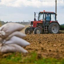 Nuo nepalankių klimato reiškinių nukentėję ūkiai galės kreiptis dėl lengvatinių paskolų