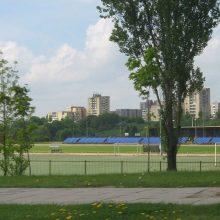 Bus tęsiamas Jonavos miesto stadiono remontas