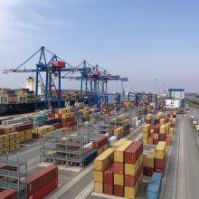 Į Klaipėdos uostą balandį atplaukė 60 proc. daugiau keleivių
