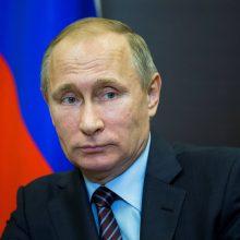 V. Putino partijai prognozuojama dauguma šalies parlamente