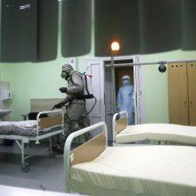 Baltarusijoje augant COVID-19 pacientų skaičiui stabdomos planinės medicininės paslaugos
