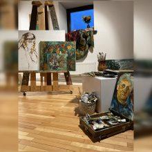 Virtualioje erdvėje – A. Taurinsko tapybos retrospektyva