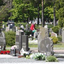 Nepatogumai klaipėdiečiams: Lėbartų kapinės liko be elektros ir vandens