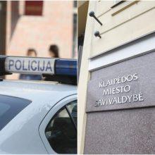 Incidentas Klaipėdoje: įsibrauta į savivaldybės patalpas