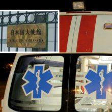 Vilniuje į avariją pateko Japonijos ambasados darbuotojas: sužaloti du žmonės