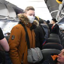 Kelionių į užsienį skaičius antrąjį ketvirtį – 93 proc. mažesnis nei prieš metus