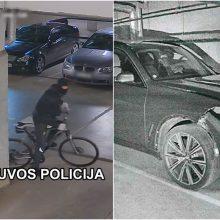 Klaipėdoje sulaikytas brangių automobilių detales vogęs įtariamasis