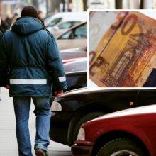 Klaipėdietis paprašė 50 eurų išpirkos už pavogtą mašiną