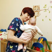 Permainos Klaipėdoje: kūdikių namuose neliko kūdikių