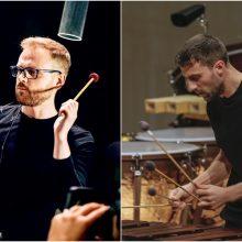 Klaipėdos koncertų salėje – perkusijos ir vario dialogai