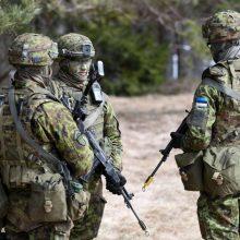 Maskva: JAV ir Estijos karinės pratybos šalia Rusijos sienos yra pavojingos