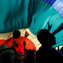 Varšuvoje po metų pertraukos įvyko LGBT paradas