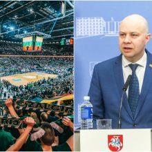 """A. Veryga nekeičia pozicijos dėl """"Žalgirio"""" rungtynių – ragina neiti"""