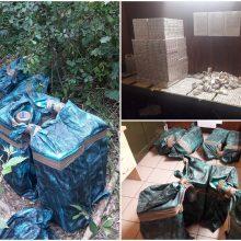Iš Baltarusijos atvykusiame sunkvežimyje – 350 tūkst. eurų vertės kontrababanda