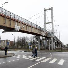 Tilto Klaipėdoje likimo valiai žada nepalikti