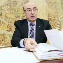 KU profesorių įamžins savivaldybė