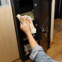 Sostinėje darbavosi ilgapirščiai: iš įmonės seifo pavogti 15 tūkst. eurų