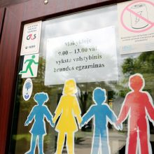 Egzaminų sesiją Klaipėdoje užlaikė koronavirusas