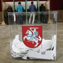 Reikalingos permainos, tačiau pastabų dėl rinkimų žemėlapio nėra?