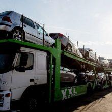 Lietuvos pasieniečiai sulaiko vis daugiau užsienyje vogtų automobilių