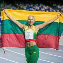 Per vieną vakarą – du Lietuvos lengvaatlečių medaliai