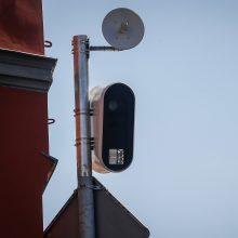 Uostamiesčio gatvėse – mažiau greičio matuoklių