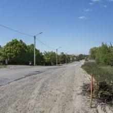 Tauralaukyje bus įrengta miesto gatvei būdinga infrastruktūra