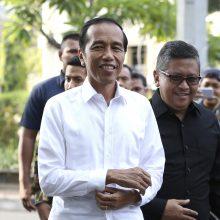 Indonezijos prezidentas J. Widodo perrinktas antrai kadencijai