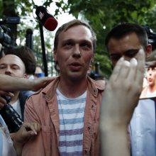 Lekia galvos: Maskvoje dėl I. Golunovo bylos atleisti keturi policijos pareigūnai
