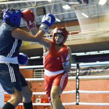 Lietuvos boksininkė – per žingsnį nuo pasaulio čempionato medalio