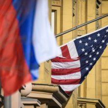 JAV ir Rusijos delegacijos Ženevoje aptars ginklų kontrolės klausimus