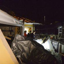 JAV pietuose stiprios audros pražudė mažiausiai aštuonis žmones