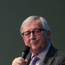"""J. C. Junckeris su B. Johnsonu aptars britų pasiūlymus dėl """"Brexito"""""""