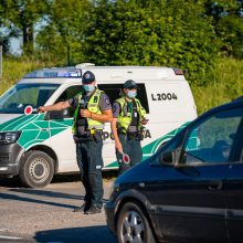 Pajūryje – pažeidėjų bumas: per savaitę pareigūnai nustatė net 14 girtų vairuotojų