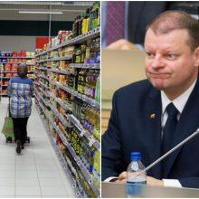 Premjeras: kainų stabilizavimas – tam tikras Vyriausybės nuopelnas