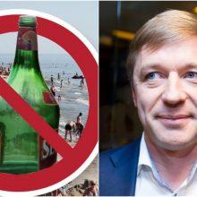 R. Karbauskis: draudimo prekiauti alkoholiu paplūdimiuose tikrai niekas neatšauks
