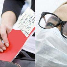 Keliavimas lėktuvais gripo sezono metu: specialistų patarimai padės nesusirgti