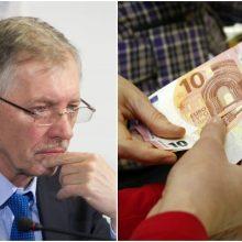 G. Kirkilas: nėra tikslo varžytis dėl vaiko pinigų, svarbiausia – klausimą išspręsti