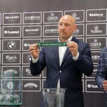 Ištraukti LFF taurės ketvirtfinalio burtai