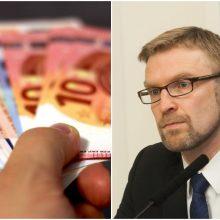 L. Kukuraitis grasina nutraukti sutartis su pensijų neišnešiojančiomis įmonėmis