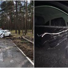 Incidentai uostamiesčio keliuose: vogė ledų sunkvežimį, spardė mašinas, vairavo girti