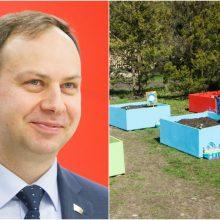 A. Verygos pasiūlymas juda į priekį: bus įteisinti lauko darželiai?