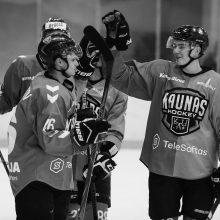 """Atkrintamųjų belaukiant: kas iš """"Kaunas Hockey"""" pasižymėjo reguliariajame sezone?"""