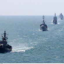 NATO laivų grupė penktadienį atplaukia į Estiją