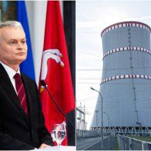 G. Nausėda su EK vicepirmininku kalbės apie Astravo AE