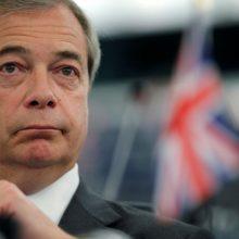 """Britų euroskeptikų """"Brexit"""" partija pradėjo EP rinkimų agitaciją"""